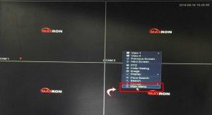 روش انتقال تصویر DVR مکسرون