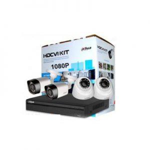 پکیج دوربین و دستگاه ضبط تصویر CVI داهوا مدل HDCVIKIT