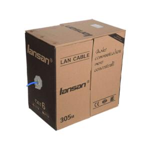 کابل شبکه CAT6 UTP برند Lansan